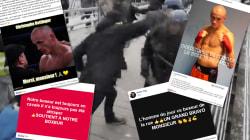 La violence du boxeur de gendarmes a fait de lui une star des Facebook de gilets