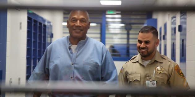 O.J. Simpson au centre correctionnel du Nevada.