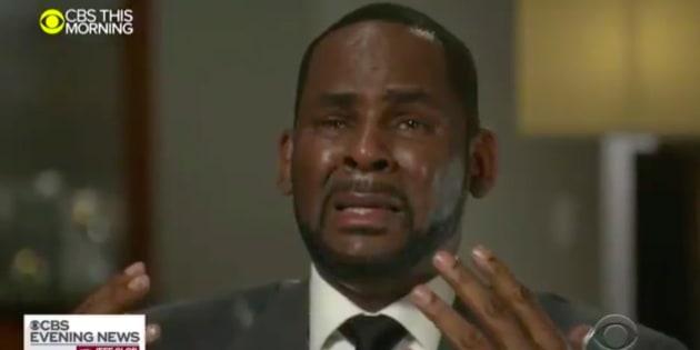 R.Kelly sur le plateau de CBS This Morning.
