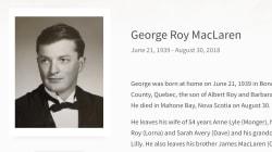 L'éditeur et diplomate George MacLaren est