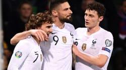 Regardez les buts de la victoire de la France (4-1) face à la