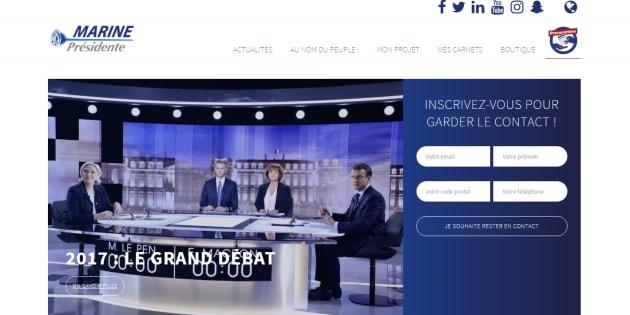 Le site de Marine Le Pen ciblé par des cyberattaques, affirme le Front national