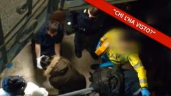 Le mani fasciate per le ferite dopo le coltellate a Jessica: il video dell'arresto del tranviere di