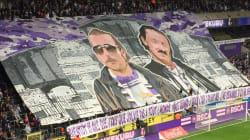 Les supporters d'Anderlecht ont rendu hommage à