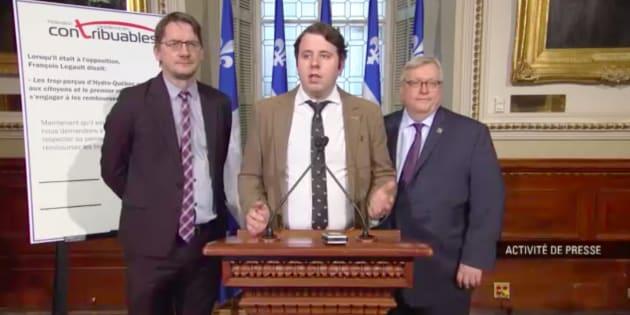 On ne s'attendait pas à cette drôle d'alliance entre le PQ, le PLQ et la Fédération canadienne des contribuables.