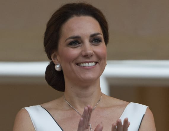 Duchess Kate wears another 'daring' neckline