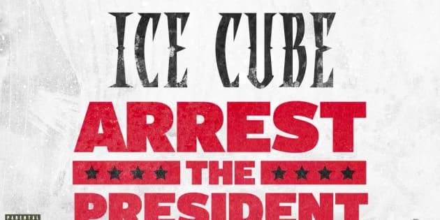 Visuel partagé sur le compte Twitter du rappeur Ice Cube