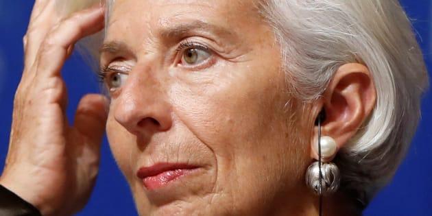 Christine Lagarde (ici le 4 octobre à Tokyo) annule sa participation à une conférence à Ryad après la disparition controversée de Jamal Khashoggi.