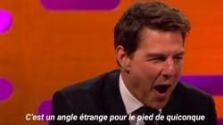 Tom Cruise dévoile un douloureux ralenti de la cascade qui lui a coûté sa cheville dans