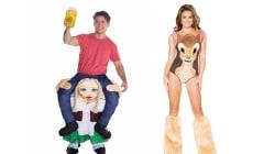 Ces costumes d'Halloween devraient être