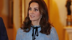 Duchess Of Cambridge Makes 1st Public Appearance Since Baby