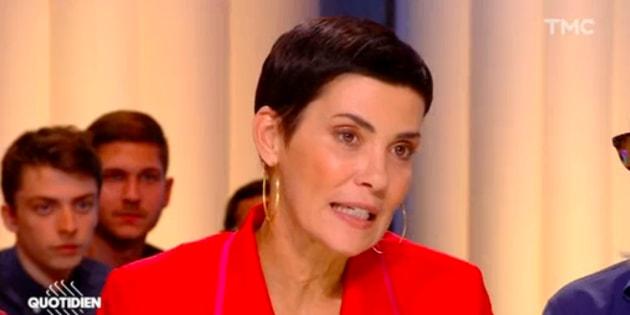 """Présidentielle au Brésil: Cristina Cordula se dit """"très triste pour son pays"""" sur le plateau de """"Quotidien""""."""