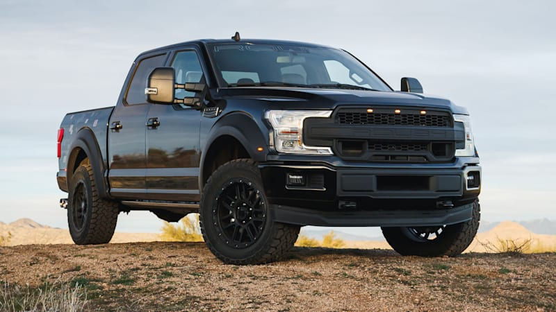 2020 Roush F-150 5.11 Tactical Edition accepts the mission
