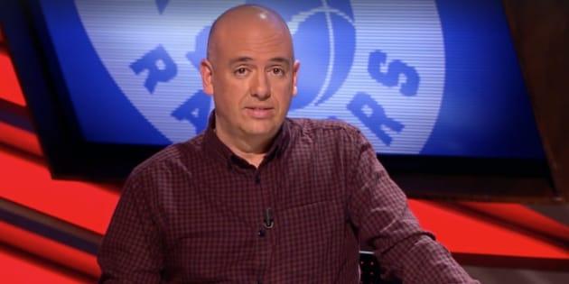 El comentarista Guillermo Giménez.