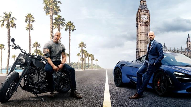Dwayne Johnson Battles Idris Elba In Fast Furious