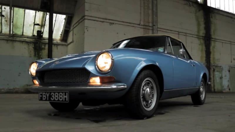 hagerty takes a ride in a 1970 fiat 124 spider bs - autoblog