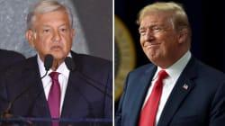 Trump, el nuevo amigo de AMLO, sí quiere venir a la toma de