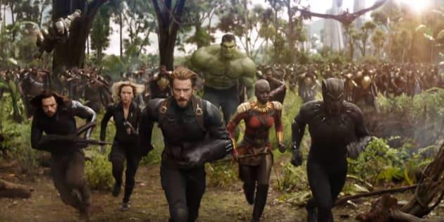 """Avengers: Infinity War"" sorti le 25 avril en France."