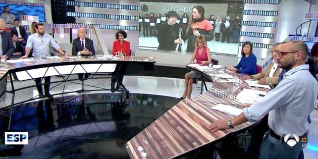 El tirante momento de nacho abad en 39 espejo p blico 39 antena 3 esto parece barrio s samo - Antena 3 espejo publico ...