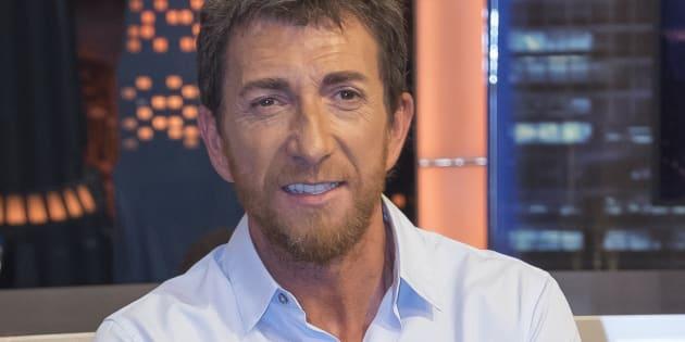 Pablo Motos en la presentación de la temporada de 'El Hormiguero' en septiembre de 2016.