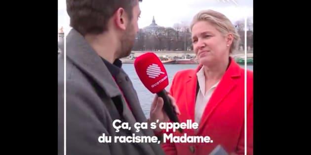 """Emmanuelle Gave ne figurera pas sur la liste de Nicolas Dupont-Aignan après cette séquence de """"Quotidien""""."""