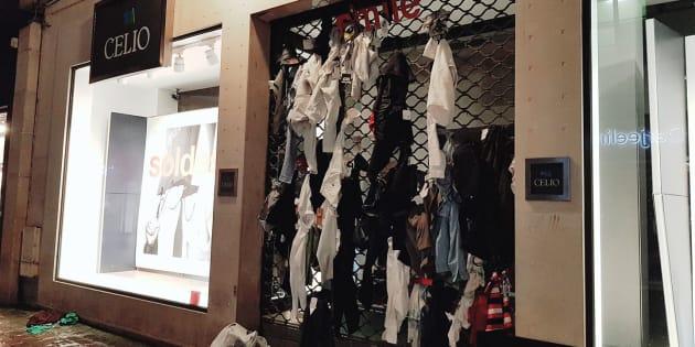 Un magasin Celio de Rouen indigne après avoir déchiré et jeté des vêtements au lieu de les donner