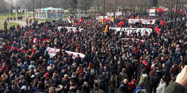 10 febbraio 2018, Macerata - Manifestazione antirazzista e antifascista