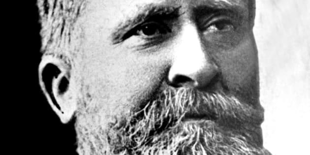 Photo non datée de l'homme politique, philosophe et historien français Jean Jaurès (1859-1914), assassiné par un nationaliste en 1914.