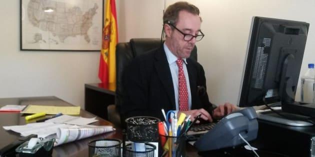 El excónsul de España en Washington, Enrique Sardá Valls.