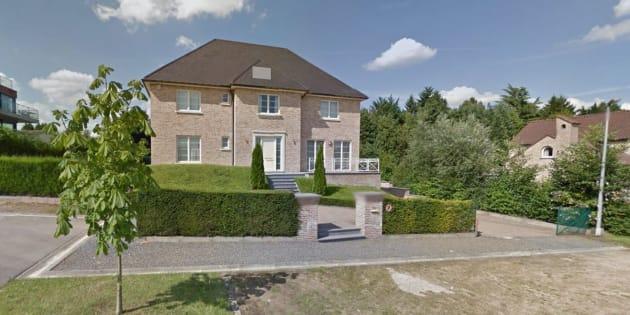 Imagen de la casa supuestamente alquilada por Carles Puigdemont, según 'L'Echo'.