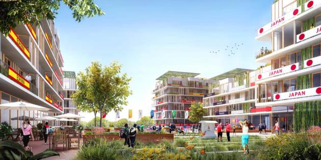 Pour le CIO, le village olympique pour Paris-2024 est... trop grand