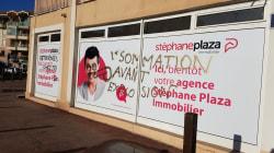 Stephane Plaza réagit avec humour à la dégradation de son agence de