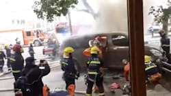Van Hits Pedestrians In Shanghai, More Than A Dozen Injuries