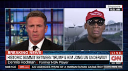Dennis Rodman Gets Emotional About Trump-Kim Summit: 'I'm So