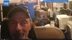 El hombre que rescata a perros del huracán Florence en su autobús