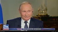 Los 4 momentos más incómodos de Vladimir Putin durante una entrevista con Fox