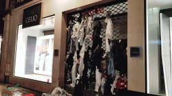 Un magasin Celio de Rouen indigne après avoir déchiré et jeté des vêtements au lieu de les