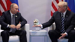 Trump et Poutine ont discuté des points chauds pendant une longue