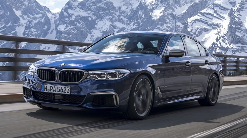 2018 Bmw M550i First Drive Powerful Otherwise Mediocre Autoblog