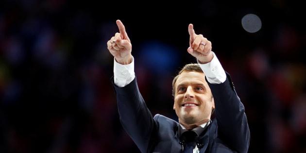 """Avec une victoire de Macron, les journaux du monde titreraient """"France is back""""REUTERS/Benoit Tessier"""