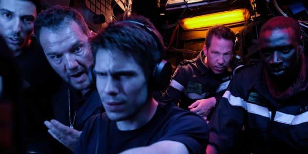 """François Civil, héros du film """"Le Chant du Loup"""" d'Antonin Baudry, au cinéma le 20 février."""