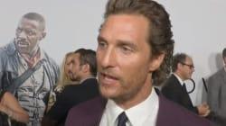 Matthew McConaughey apprend la mort de Sam Shepard en pleine