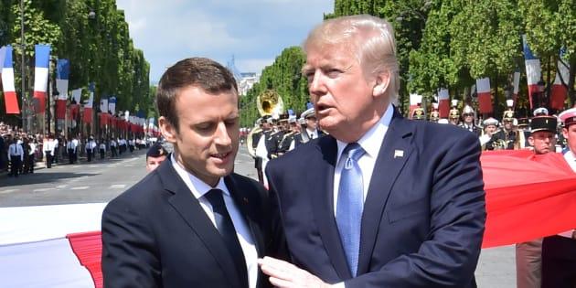 14-Juillet: Pourquoi Macron a autant mis en scène son amitié avec Trump