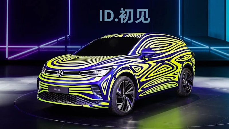 VW's ID.4 electric crossover's reveal coming at New York Auto Show