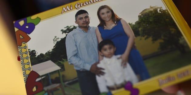 Una fotografía familiar del reportero asesinado.