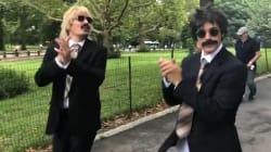 Justin Bieber et Jimmy Fallon se sont déchaînés à Central Park, totalement