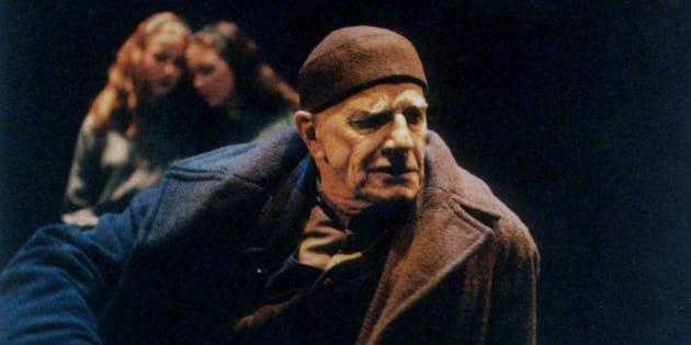 Gabriel Gascon dans «Interieur», en 2001.