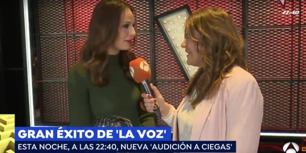 Eva González en 'Espejo Público'.