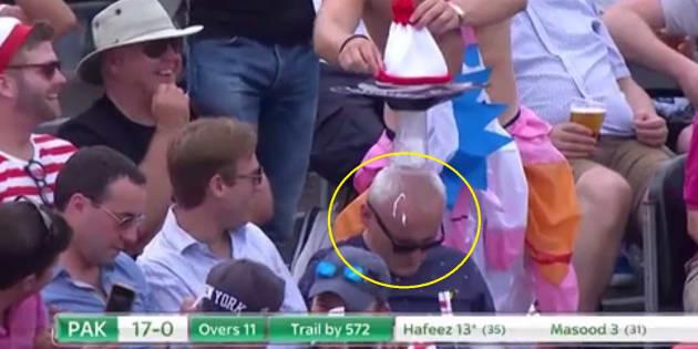 That man's head is not a bin.