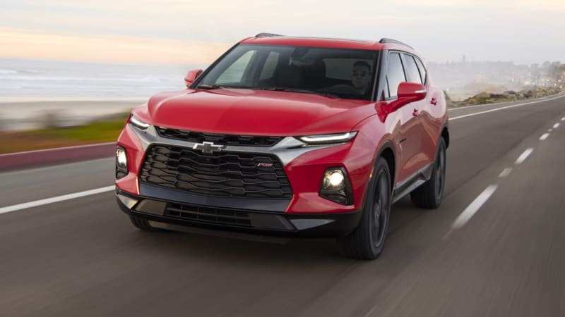 2019 Chevrolet Blazer Review Pricing Powertrains And Features